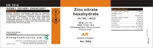 Crystals Zinc Nitrate Hexahydrate 99% Analytical Grade pictures & photos