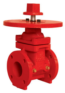 UL 300psi-Nrs Ype Flanged End Gate Valve