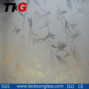 6mm Acid Etched Glass with High Quality pictures & photos