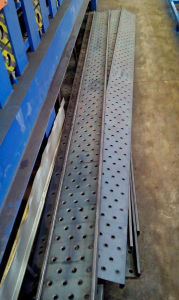 Galvanized Steel Panel for Scaffold Walking Board Roll Forming Machine pictures & photos