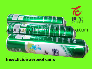 Aerosol Tin Cans for Insecticide Spray Products pictures & photos