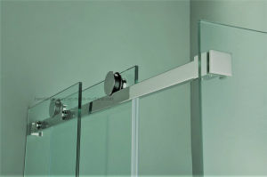 HR-P031 Heavy-Duty Square Stainless Steel Sliding Rod Shower Enclosure pictures & photos