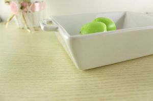 7.5 Inch Customize Ceramic Porcelain Hotel Bakeware Baking Tray Dinner Plate pictures & photos