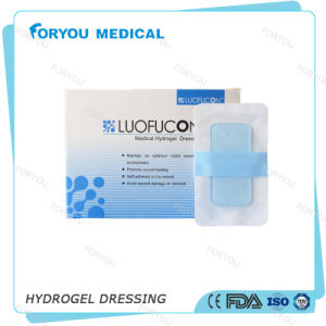 Moist Non-Adhesive Surface Sterile Hydrogel Burn Pads pictures & photos