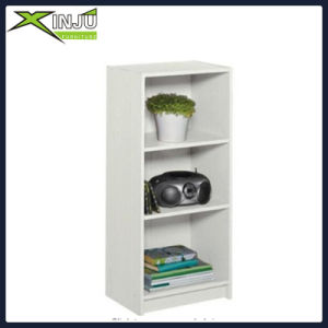 Wooden/Wood Display Shelf Organizer Bookshelf with White pictures & photos