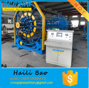 Automatic Steel Wire Cage Welding Machine for Concrete Pipe to Indonesia pictures & photos