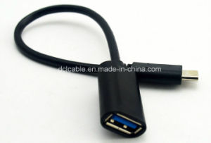 OTG Cable USB3.0 Female to Type C pictures & photos