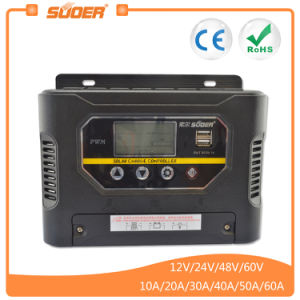 Suoer 48V 50A PWM Auto Intelligent Solar Charge Controller (ST-W4850) pictures & photos