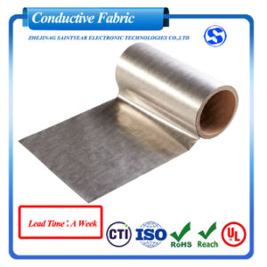 Manufacturer High Quality RFID Blocking Fabric Super Thin Conductive Fabric for Credit Card pictures & photos
