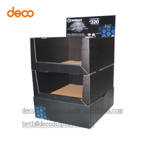 Corrugated Paper Box Cardboard Counter Pop Display PDQ pictures & photos