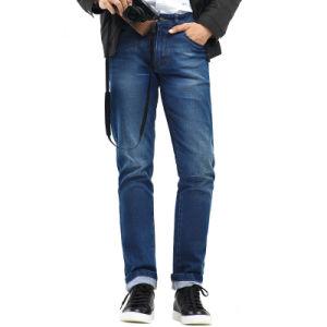 Facory Men Casual Denim Pants Stretch Cotton Jean Pants pictures & photos