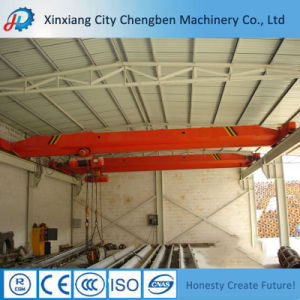 Workshop Electric Motor Driven 5 Ton Single Beam Bridge Crane pictures & photos
