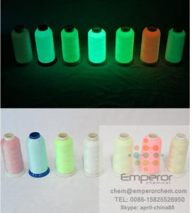 Photolumiscent Yarn and Thread for Sport Clothes pictures & photos