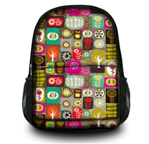 Wholesale OEM Custom Canvas School Backpack Bags Laptop Backpack pictures & photos