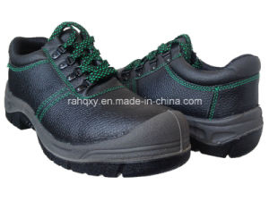 Beatiful Green Stitching Work Shoe (HQ01012) pictures & photos