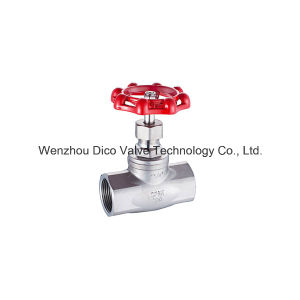 High Quality Supplier Female Thread Globe Valve (SS304/316) pictures & photos
