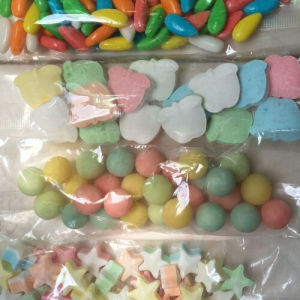 OEM Color Jelly Beans, Decorative Circle Candy pictures & photos