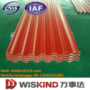 Single PPGI Corrugated Roofing Sheet Manufactured by Wiskind pictures & photos