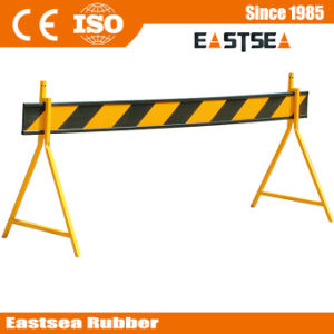 White / Orange PVC Plastic Road Safety Barricade pictures & photos