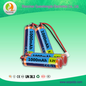 (QSD-Y0013) 3.2V 1000mAh 18650 Li-ion Battery China pictures & photos