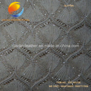 Artificial Leather Shinny Glitter for Lady Shoes pictures & photos