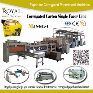 Single Facer Corrugated Box Machine pictures & photos