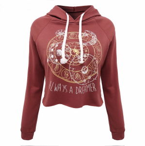Custom Women Cotton Fleece Fashion Hoodies Sports Pullover Top Clothing (AL040) pictures & photos