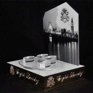 White Advertising Acrylic Display Stand, Luxury Retail Store Counters pictures & photos