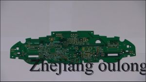 22 Layer Hal Lf PCB with Green Solder Mask pictures & photos