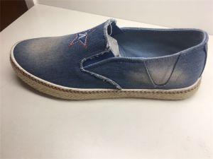 Canvas Shoes Rubber Sole Fabric Cotton Shoes pictures & photos