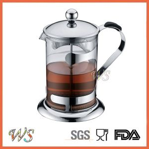 Wschmy042 Borosilicate Glass French Press Coffee Maker Hot Sell Stainless Steel Coffee Press