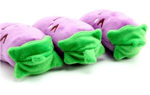 Eggplant Pattern Plush &Stuffed Squeaky Pet Toy for Dog pictures & photos