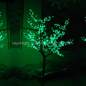 2.5m Christmas Green Color LED Tree Light for Garden Decoration pictures & photos