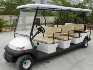 11 Passengers Electric Sightseeing Cart for Tourist Resort pictures & photos