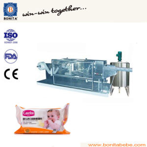 High Speed Tissue Packing Machine for Various Kinds of Wet Wipes