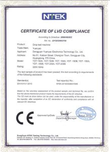 Ce Marking Bag Drop Tester with Yuanyao Brand pictures & photos