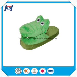 Latest Design Crocodile Cartoon Character Stopeez Kids Slippers pictures & photos
