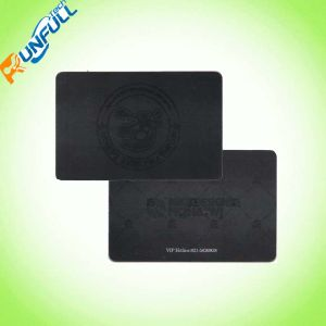 Standard Size Double Sides Printing Black PVC VIP Card pictures & photos