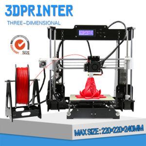 Anet A8 Fdm Desktop 3D Printer with Auto Leveler pictures & photos