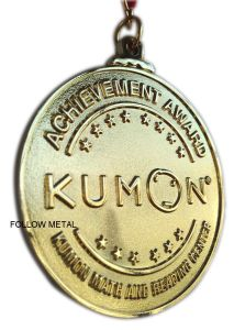 Souvenir Award Medal Gift for Kumon Math and Reading Center