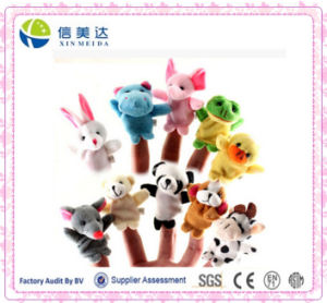 Hot Sell Interactive Plush Aniaml Finger Puppet Toy pictures & photos