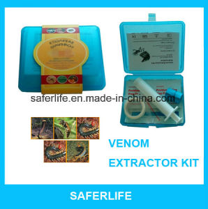 Emergency Outdoor Venom Extractor Kit The Snake Bite Protector Extractor Vacuum Pump Kit pictures & photos
