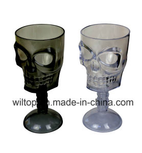 Halloween Assorted Plastic Skull Goblets (HW002) pictures & photos