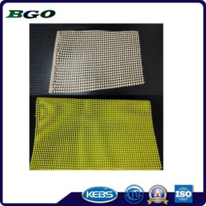 PVC Non-Slip Mat for Knitting Tapestry pictures & photos