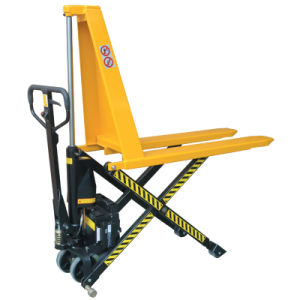 Electric Hydraulic Scissor Pallet Truck pictures & photos