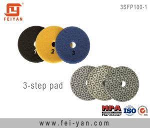 3-Step Polishing Pad pictures & photos