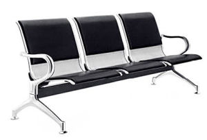Stainless Steel Bank Hospital Airport Public Waiting Bench Chair (HX-PA66R) pictures & photos