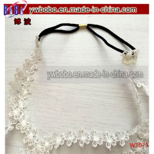 Wedding Decoration Lace Hair Headwear Hair Products (W1073) pictures & photos