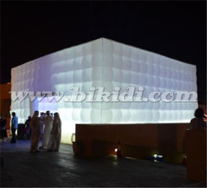 LED Lighting Inflatable Cube Party Tent for Sale K5078 pictures & photos