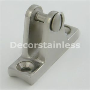 Stainless Steel Rail Deck Hinge with Release Pin pictures & photos